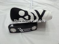 Wholesale Skull Select NEWPORT Putter Golf Clubs NEWPORT Putter Clubs Inch Steel Shaft Regular Stiff Flex With Head Cover