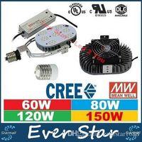 85-265V ac nickel - UL DLC LED Shoebox Retrofit Kit W W W W K Medium Mogul E26 E39 E40 AC V LM W
