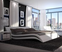 cheap furniture - 2016 cheap Modern Faux leather PU bed frame bedroom furniture Soft beds