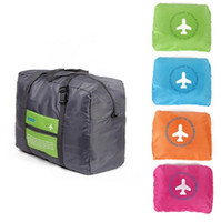 Wholesale Folding ECO Duffel Bag For Travel Utility Backpacks Woman Men Weekender Bag Luggage Set Block Backpack Plain Foldable Totes Bags Handbags