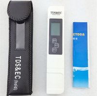 Wholesale TDS Tester EC meter conductivity meter water measurement tool TSD EC tool meter Function in ppm tds EC