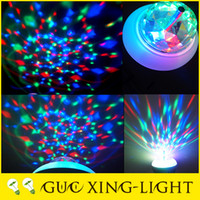 best christmas ornament - 2016 best seller V W W led crystal bulbs E27 Rotating lamp Christmas Disco magic ball ornament light rgb led globe light