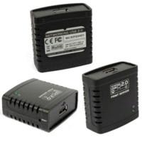 beautiful shares - Beautiful Gift New USB LPR Printer Print Server Hub Adapter Ethernet LAN Networking Share Jan19