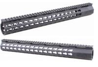barrel mounted laser - 15 Inch Slim KeyMod Free Float Handguard Mount with Steel Barrel Nut Detachable Rail fit Scope Laser Flashlight