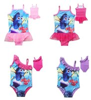 Wholesale Children Cartoon Swimsuit New Finding Nemo Dory Kids Summer Sling Swimsuit Nemo Dory Children One Pieces Styles Can choose size