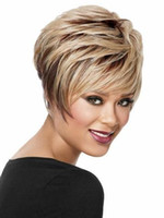 Wholesale New Arrival Cheap African American Short Wigs for Black Women Short Human Hair Cut short hair style full Wig