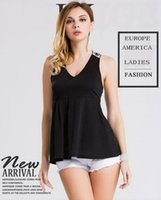 Wholesale women hot sale Europe America vest summer new arrival tank top high spandex sizes colors DHL