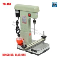 Wholesale YG Electric bookbinding machine financial credentials document archives binding machine Max punch thickness cm