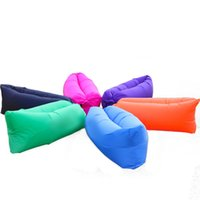 Wholesale 2016 new design for inflatable hangout portable bag lounger inflatable sofa