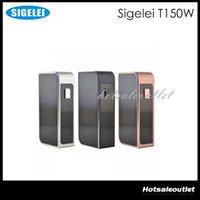 Écran tactile Sigelei T150W Cigarette Mod T 150W TC Box Mod électronique Mod Sigelei T150W écran tactile W / O Mod batterie 100% Original
