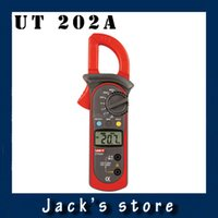 Wholesale UNI T UT202A ACA Clamp Meter A Voltage Current Resistance Frequency Diode Continuity