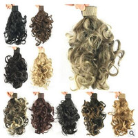 Wholesale Hot Sale Curly Ponytail Shrapnel tail Fluffy contract Micro volume cute Little ponytail For women