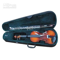 Wholesale New Natural Acoustic Violin Case Bow Rosin New Y00326