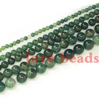 aquatic sports - Natural Aquatic plants agate Stone High Quality Round Loose beads mm Strand quot F00253 jewelry making