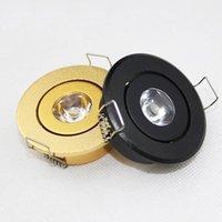 Cheap Recessed Led downlight Mini 1W led lights AC110-240V led spotlight ceiling lamp indoor for home lighting1W Cabinet light MT012