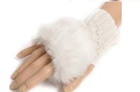Wholesale Girls knitting glove hand wrist to keep warm in winter and convenient comfortable soft colorful Halloween gifts outdoor fingerless gloves