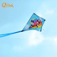 air shark balloon - Colorful Designs cm cm kites hot air balloon shark sun and moon Sport Kite Diamond Kite With Handle And Line