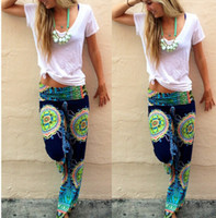 baggy aladdin pants - Women Harem Aladdin Casual Wide Leg Gypsy Yoga Long Pants Palazzo Trousers Baggy Brand New Good Quality