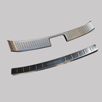 Wholesale High Quality Rear Bumper Protector Step Door Sill Plate Trunk Trim Accessories Fit For KIA SORENTO