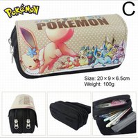best old school bag - Poke Pencil Bags Pikachu Pokémon Best Gifts For kids Halloween Christmas Gifts E PACKET Hot Sale
