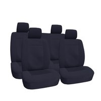 car seat covers - Polyester Velour Car Seat Covers OEM Jacquard Anti Dirt Anti Mud Universal Size Front Car Accessories for Jeep