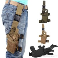 Wholesale Hunt Accessory Leg Bag Outdoor Hunting Tactical Puttee Thigh Leg Pistol Huntinggun Storage Holster Pouch Colors Options