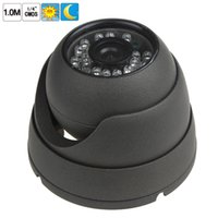 Wholesale 1 quot CMOS M P Metallic Vandalproof Dom Day Night IR Color Security Camera CCT_660