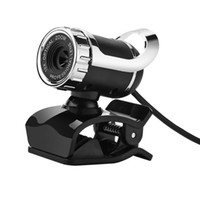 Wholesale Free DHL USB Megapixel HD Camera Web Cam Digital Video Webcamera with Microphone MIC Adjustable Angle for Computer PC Laptop