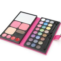 Wholesale 1pcs color Eyeshadow color Blush Lipstick Foundation Makeup Palatte Make Up Kit