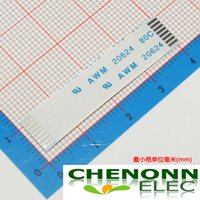 Wholesale 8Pin mm Pitch FFC FPC Type A mm Length Flat Flex Ribbon Cable Flexible Flat Cable Same Side