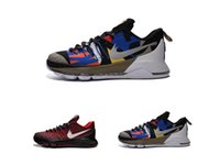 Cheap Cheap black red mens shoes KD 8 All Star Kevin Durant 8s Sneaker KDS outdoor trainer kd8 basketball shoes for men size 40-46