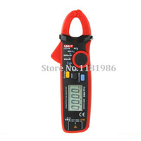 Wholesale UNI T UT211B A High Resolution LCD True RMS Clamp Meters w V F C NCV Test amp Zero Mode Multifunction Multimetro