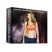 Wholesale Jillian Michaels Bodyshred Discs Workout Rotational Calendar Meal Plan Fitness Guide US Version New
