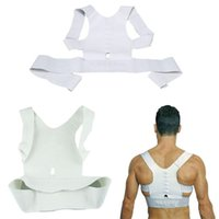Wholesale Posture Support Corrector Correction Adjustable Magnetic Therapy Body Back Pain Lumbar Belt Shoulder Brace Shoulder support