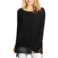 tunic shirt - Women s T Shirt Chuvivi Fashion Apparel Women s Split Sides Semi Sheer Hem Loose Tunic Scoop Neck Tops Tees