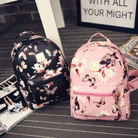 Backpack Style artwork prints for sale - Women Backpack Hot Sale Fashion Causal Floral Printing Backpacks PU Leather Backpack For Teenagers Girls Mochilas Hot Sale