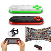 Precio de Pc joystick-Gamepad Bluetooth remoto VR cojín androide del regulador del juego de la palanca de mando selfie obturador de control remoto para PC Smartphone