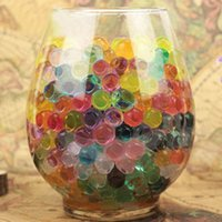 baby vases - 3600 Crystal Soil Water Beads Home Office Wedding Party Planting Flower Vase Baby Shower Decor Mixed Colors