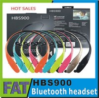 Wholesale Bluetooth Headsets HBS Bluetooth Sport Headphone Tone Infinim Neckbands Wireless Stereo Earphones for HBS900 HBS Headsets