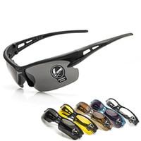 Wholesale New Upgrade Cycling Sunglasses UV400 Bicycle Bike Sports Eyewear Fashion Sunglasses Men Women Riding Fishing Glasses Colors