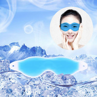 Wholesale Top Quality Summer Cool Ice Eye Mask Sleep Headache Relief Goggles Eye Gel Ice goggles