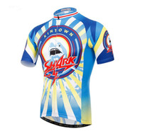 Wholesale New XINTOWN Men Team Bicycle Cycling Jersey Clothing mtb Garment Clothes Shark Bike Top Shirts Breathable