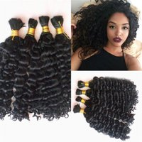 Wholesale Cheap Mongolian Deep Curly Hair Bundles Human Hair Bulk A Unprocessed Mongolian Curly Hair Bulk