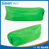 Wholesale Fast Inflatable Lamzac Hangout Air Sleep Hiking Camping Bag Bags Bed