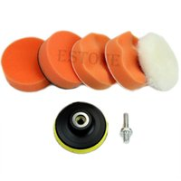 Wholesale High Gross mm quot Polishing Buffing Pad Kit for Car Polisher Buffer NEW