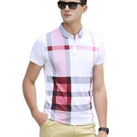 Wholesale Men s Shirt Summer Short Sleeve New Shirt Turn Down Collar Casual Man Shirts Male MC5810418