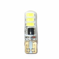 Wholesale Super Bright Flashing Single Color SMD License Plate Tag T10 Wedge LED Light Bulbs For Motorcycle Car Lighting