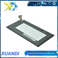 asus table - Factory price V mah Tablet Battery Build in Li ion Replacement battery for Asus Google Nexus Table PC C11 ME3 DHL