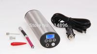 automotive tire pump - Portable Electric Air Pump Bicycle Inflatable Pump Pressure Display E bike Motorcycle Automotive Pneu Tire Inflator to Presta