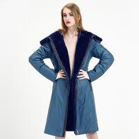 Cheap Sheepskin Coat Hood Women   Free Shipping Sheepskin Coat